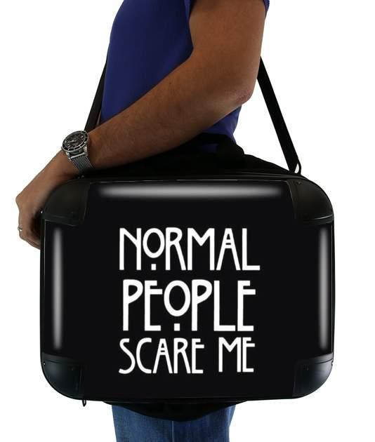 0c5ef9435735 Sacoche de transport American Horror Story Normal people scares me