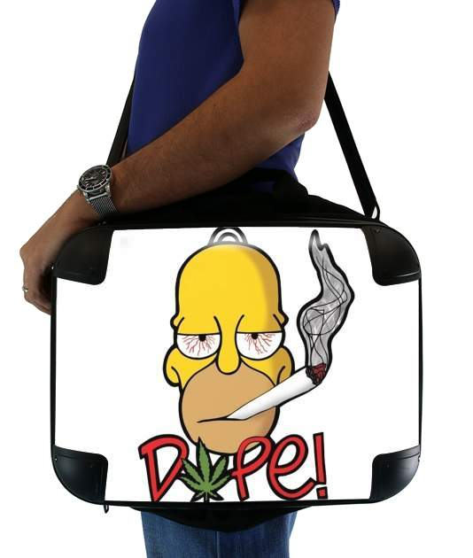 sacoche Homer Dope Weed Smoking Cannabis