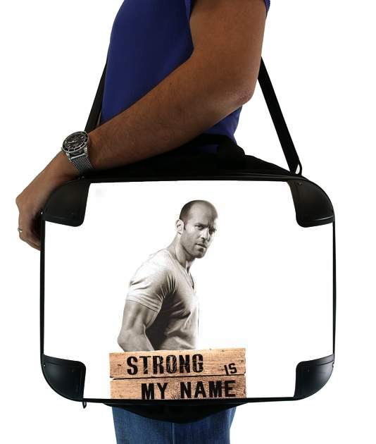 sacoche Jason statham Strong is my name