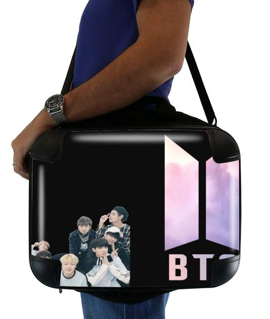 sacoche ordinateur K-pop BTS Bangtan Boys