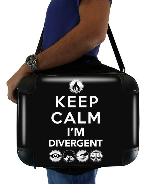 sacoche Keep Calm Divergent Faction
