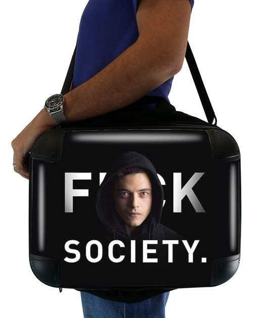 sacoche Mr Robot Fuck Society