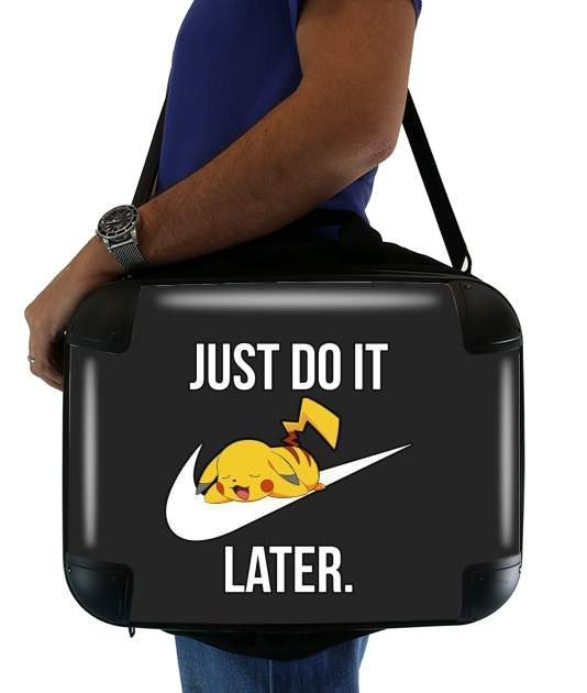 sacoche Nike Parody Just Do it Later X Pikachu