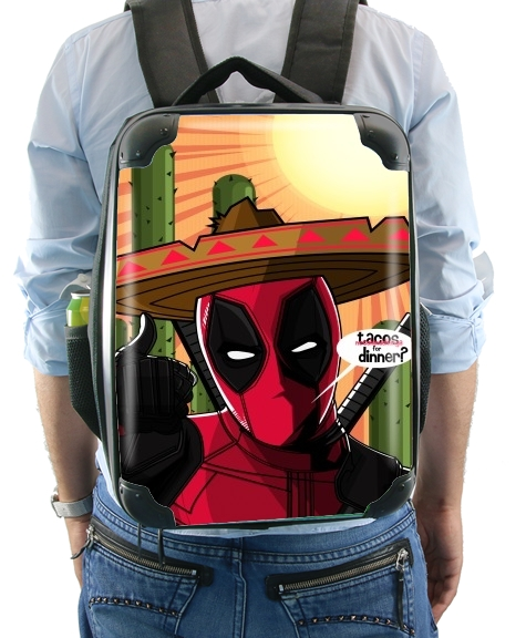 sac à dos Mexican Deadpool