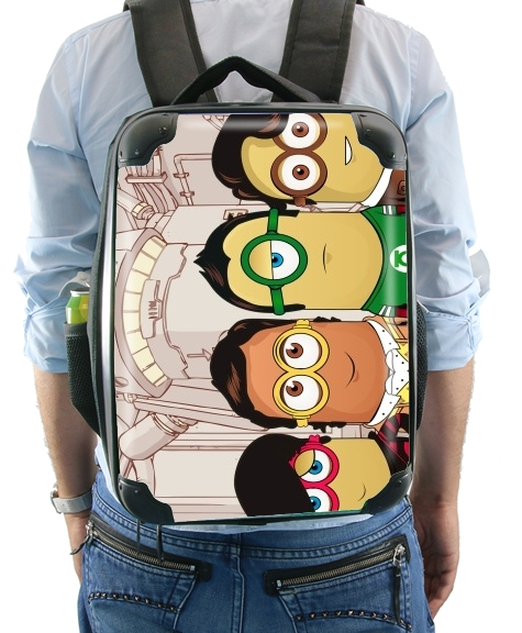sac à dos Minions mashup Big Bang Theory