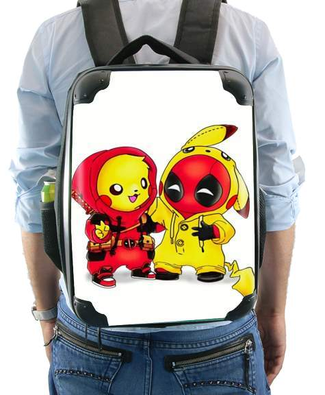 Sac Pikachu x Deadpool