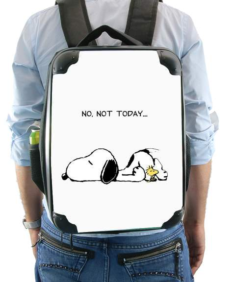 Sac Snoopy No Not Today