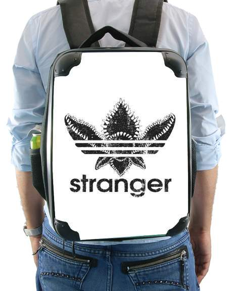 sac à dos Stranger Things Demogorgon Monstre Parodie Adidas Logo Serie TV