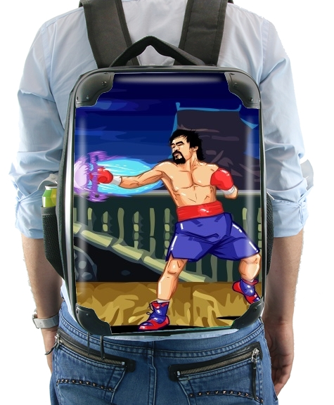 sac à dos Street Pacman Fighter Pacquiao