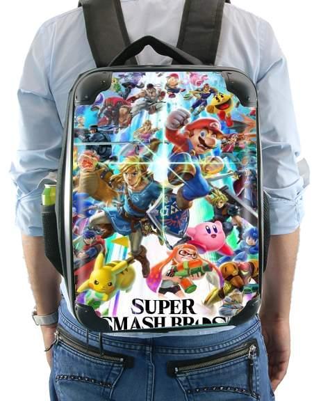 Personnalisé SUPER MARIO/'S bowser école pe sac à cordons