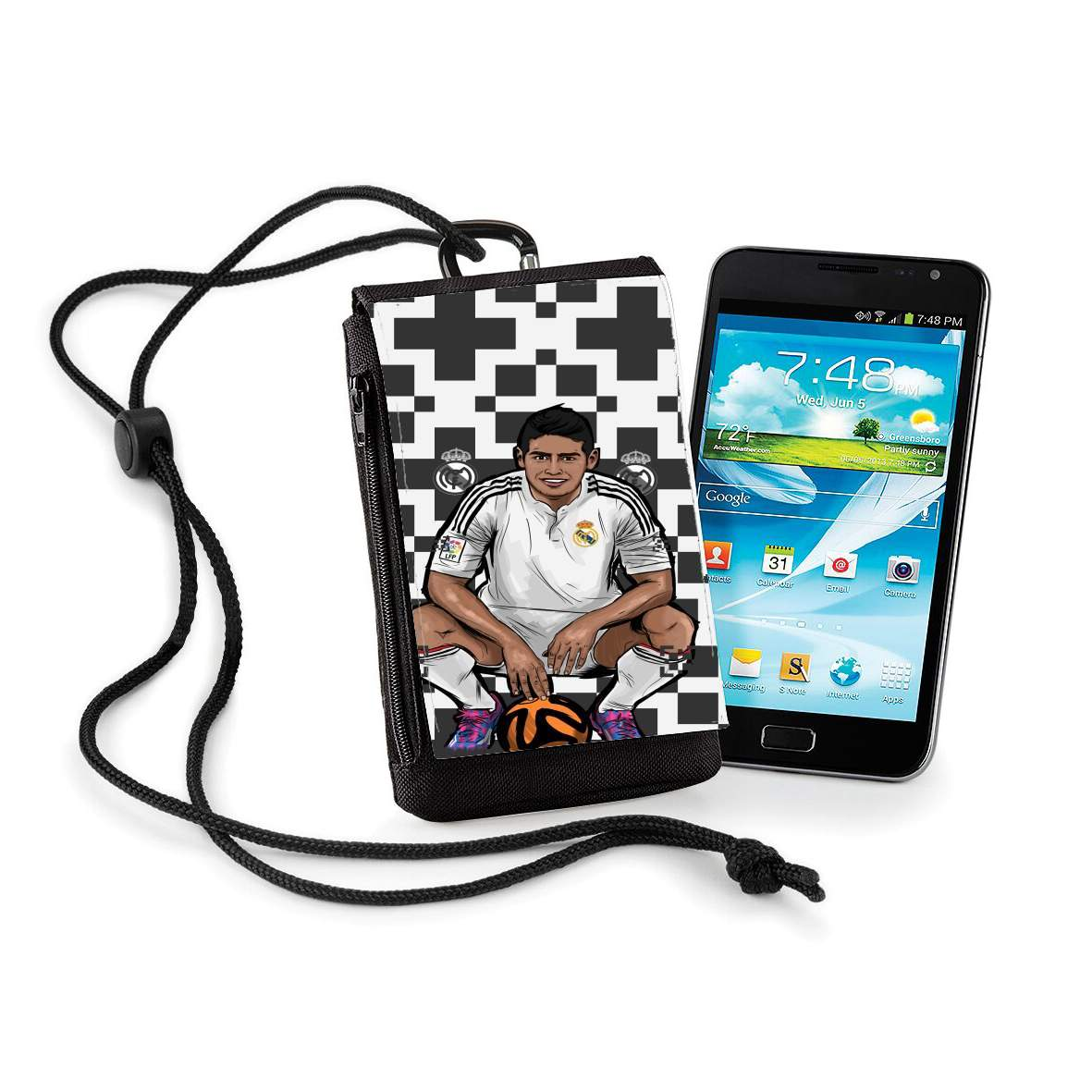 coque samsung a70 real madrid