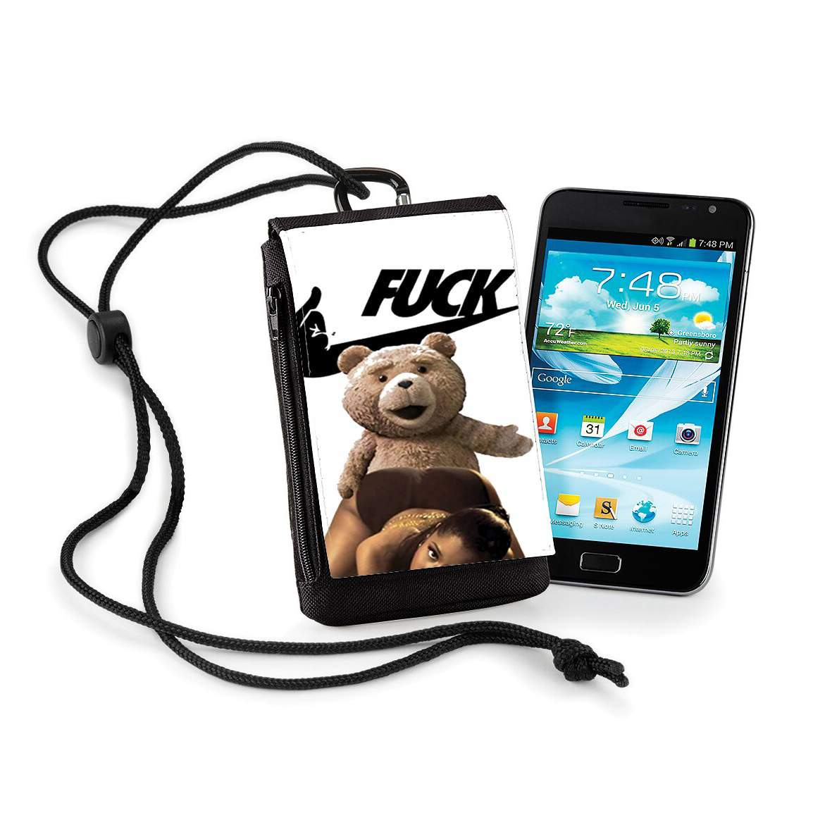 coque huawei p8 lite ted
