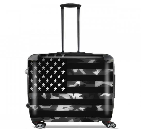 valise american camouflage ordinateur roulettes bagage cabine personnalis e. Black Bedroom Furniture Sets. Home Design Ideas