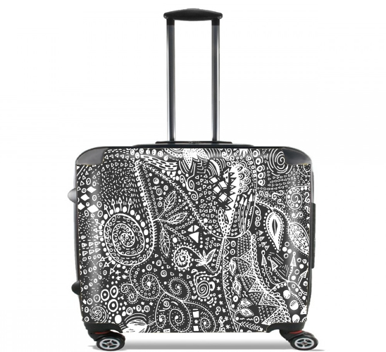 Valise roulettes bagage cabine abstract - Valise roulette cabine ...