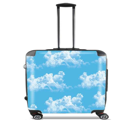 Valise Blue Clouds