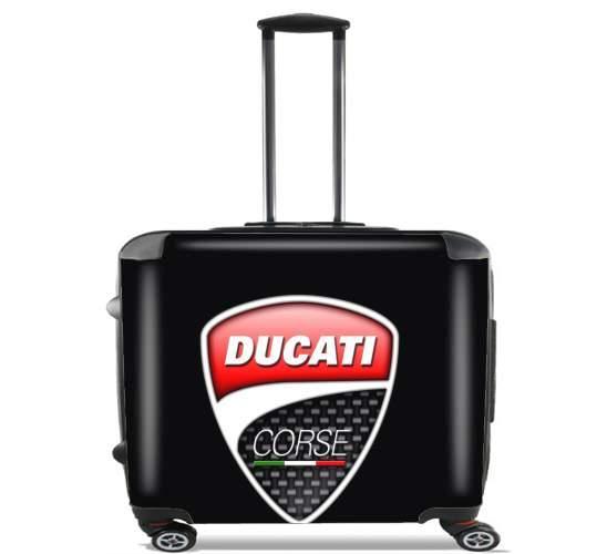 Brand NEW Ducati Corse Trolley Sac de voyage Noir.