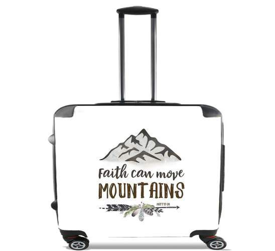 Valise Catholique - Faith can move montains Matt 17v20 Bible