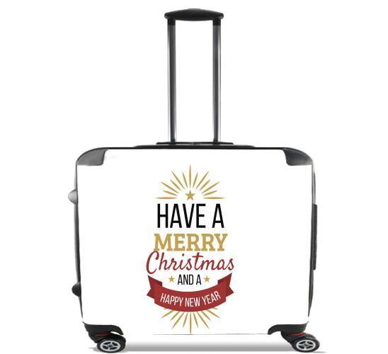 Valise Merry Christmas and happy new year