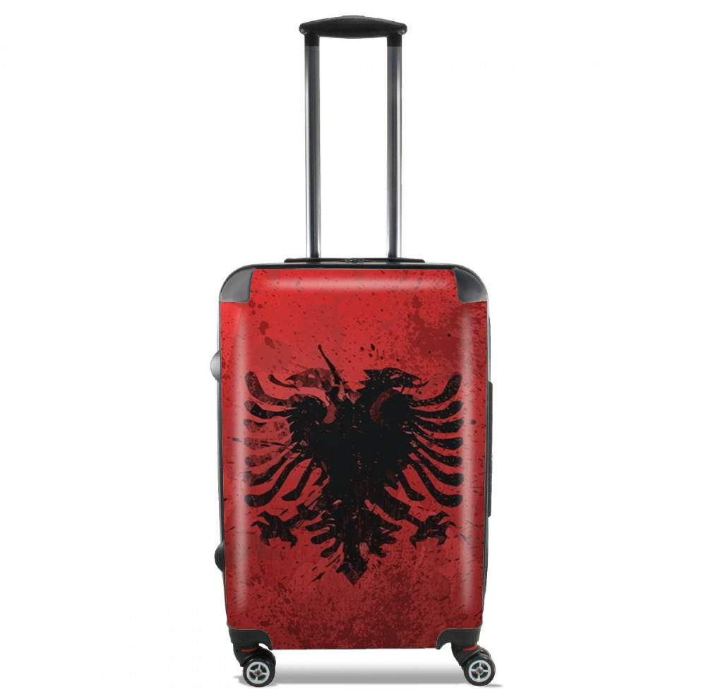 Valise Albanie Painting Flag