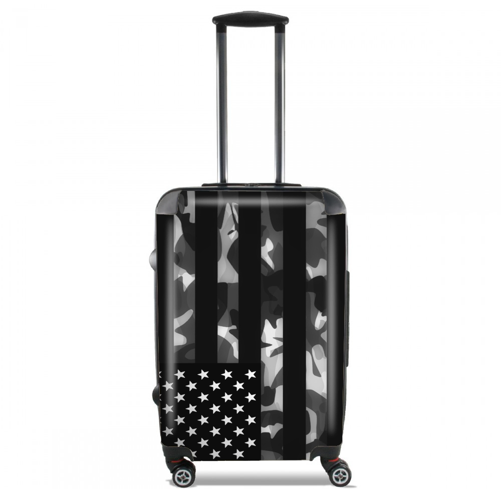 valise american camouflage cabine trolley personnalis e. Black Bedroom Furniture Sets. Home Design Ideas