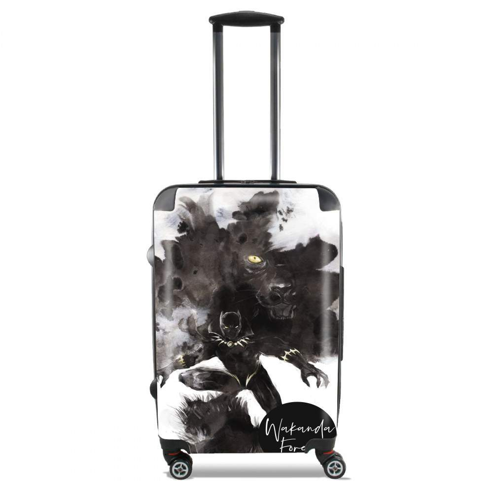 valise Black Panther Abstract Art WaKanda Forever