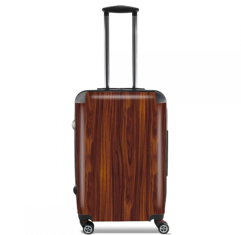 valise en bois Valise Bois Massif Marron imitation