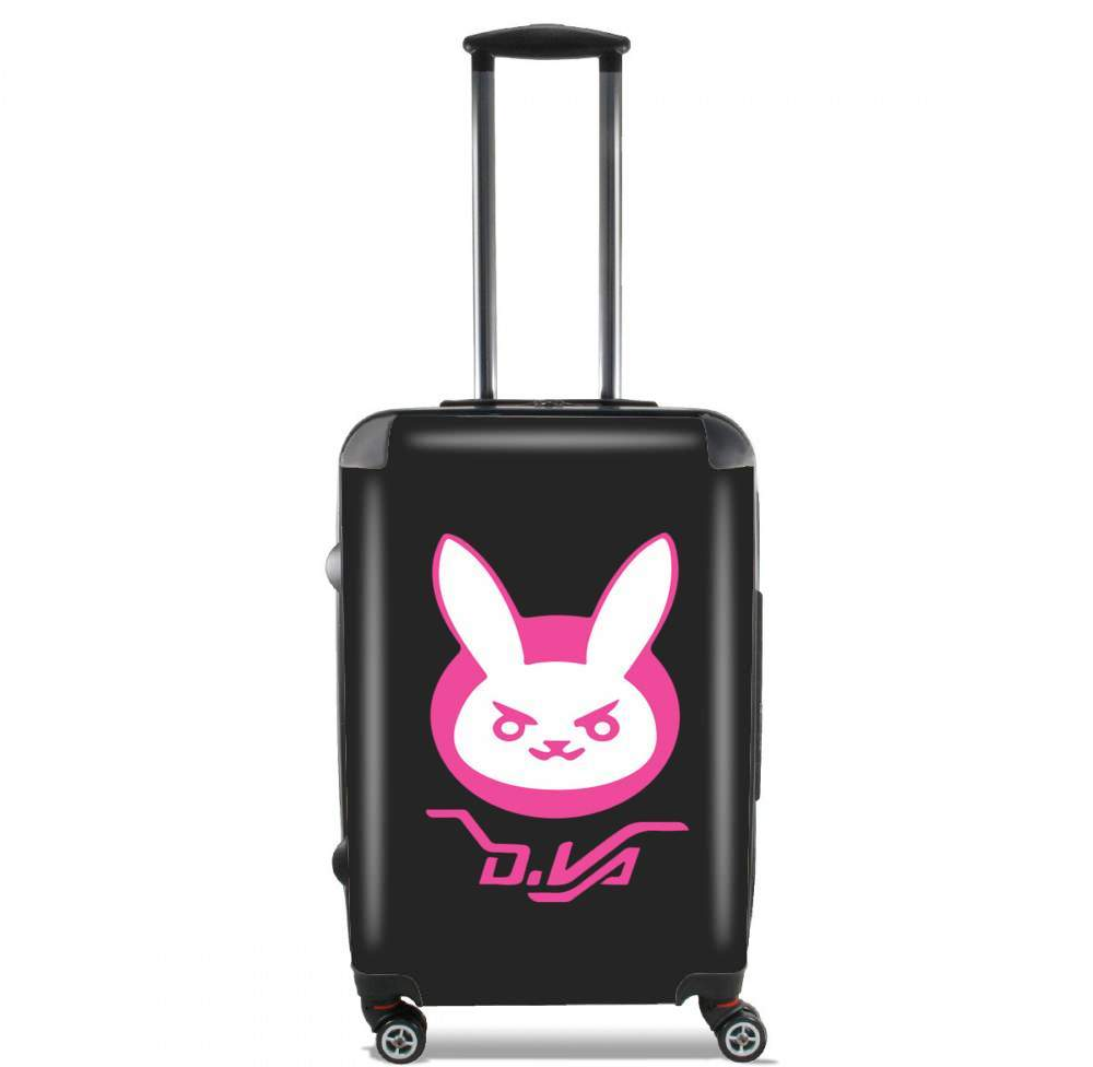 valise Overwatch D.Va Bunny Tribute Lapin Rose