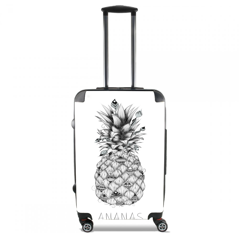 coque samsung galaxy j3 2016 ananas en noir et blanc. Black Bedroom Furniture Sets. Home Design Ideas
