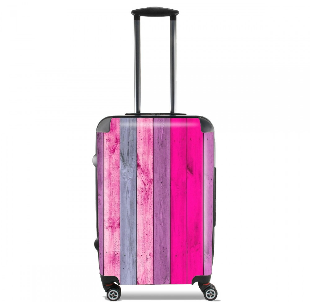valise bois rose cabine trolley personnalis e. Black Bedroom Furniture Sets. Home Design Ideas